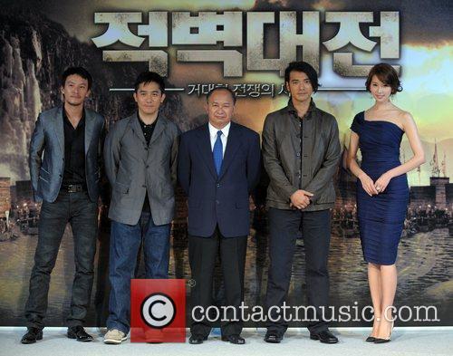 Chang Chen, Tony Leung, John Woo, Kaneshiro Takeshi and Lin Chi-ling