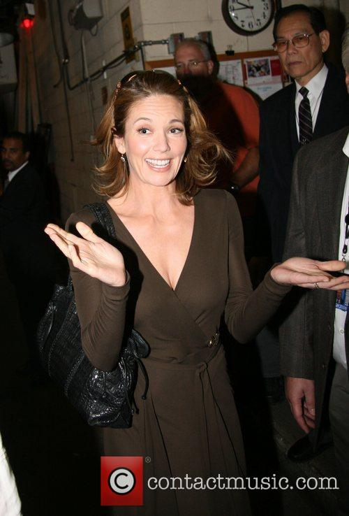 Leaving ABC studios after appearing on 'Live with...