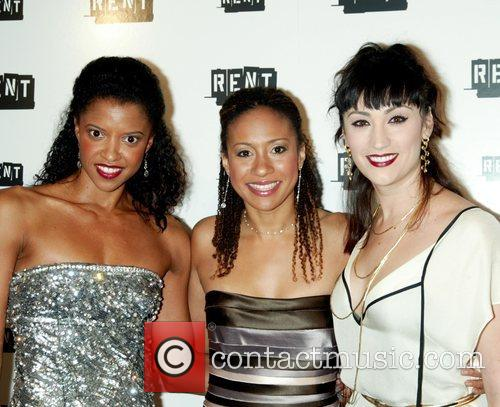 Elise Goldsberry, Tracie Thoms, Eden Espinosa The final...