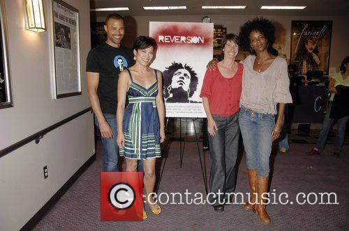 Jason Olive, Jennifer Jalene, Mia Trachinger and Leslie...