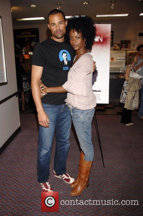 Jason Olive and Leslie Silva Premiere of 'Reversion'...