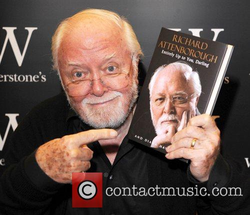 Richard Attenborough during a signing of his autobiography, 2008