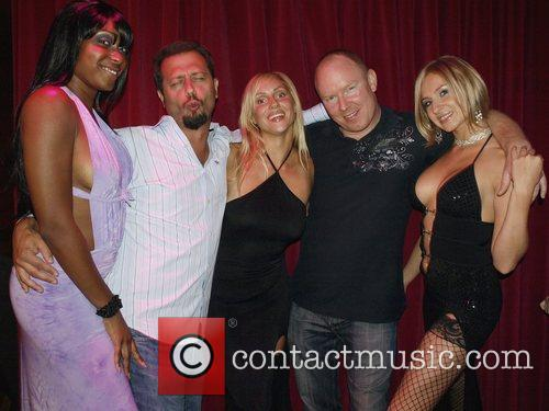 Sal The Stockbroker, Richard Christy and girl entertainers...