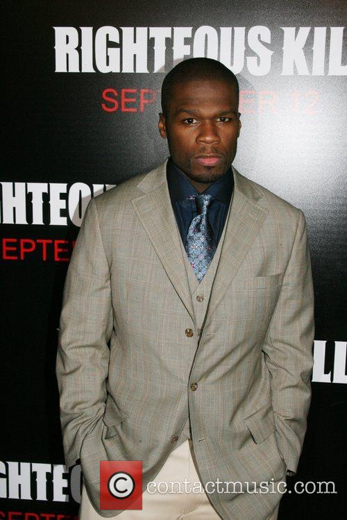 50 Cent aka Curtis Jackson New York Premiere...