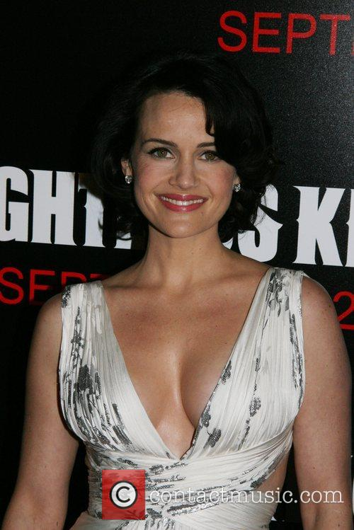 Carla Gugino New York Premiere of 'The Righteous...