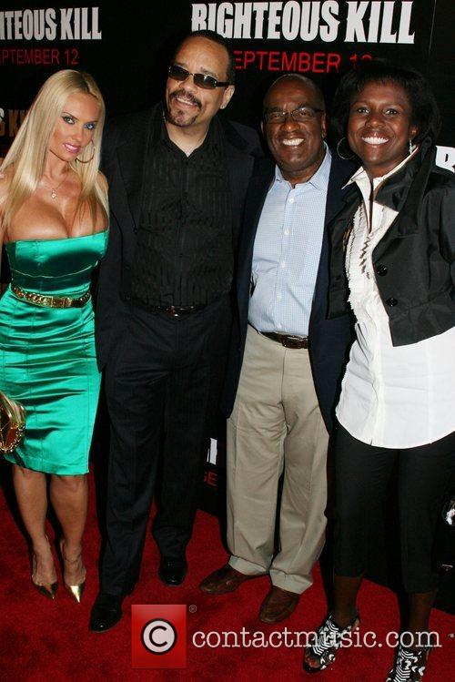 Coco, Ice T, Al Roker and Deborah Roberts...