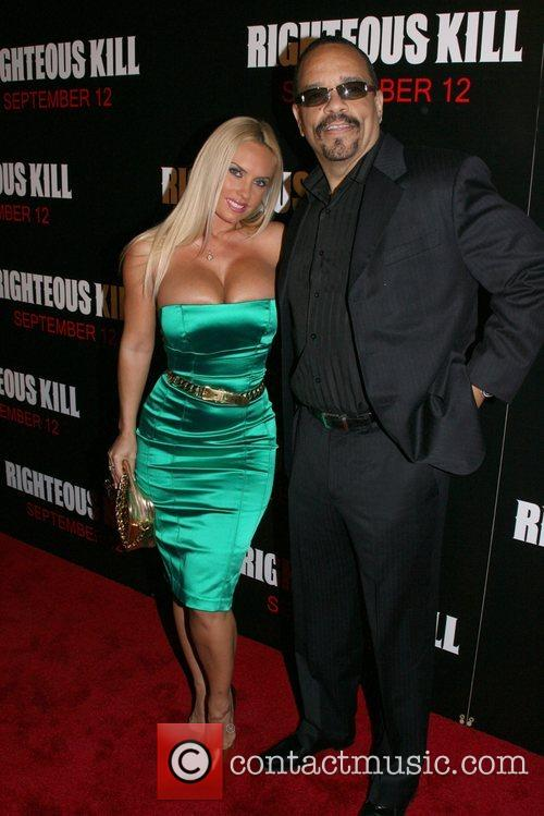 Coco and Ice T New York Premiere of...