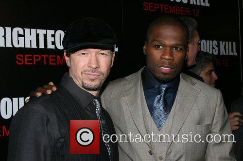 Donnie Wahlberg and 50 Cent aka Curtis Jackson...