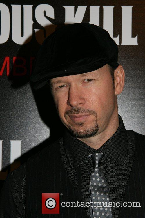 Donnie Wahlberg New York Premiere of 'The Righteous...