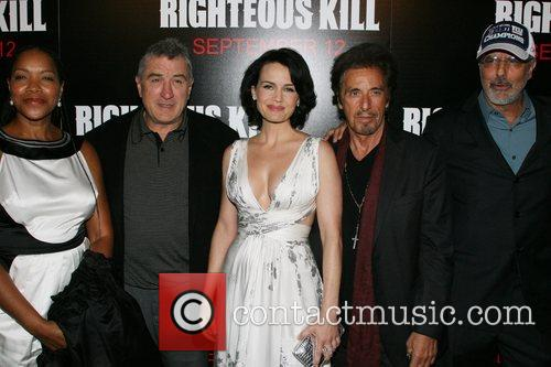 New York Premiere of 'The Righteous Kill' at...