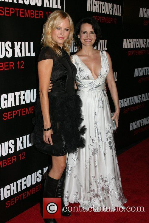 Malin Ackerman and Carla Gugino New York Premiere...