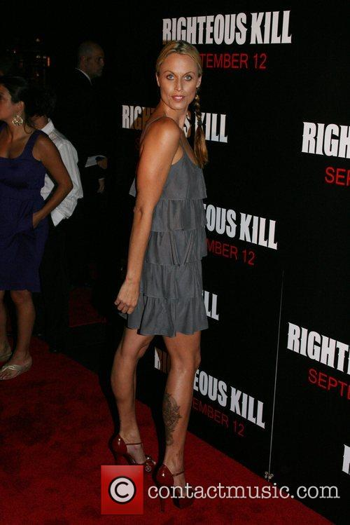 Olympic swimmer Amanda Beard New York Premiere of...