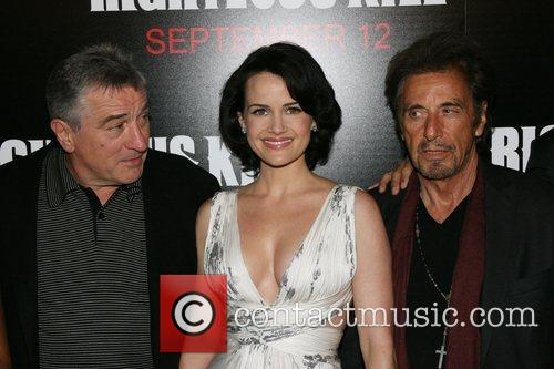 Robert De Niro and Carla Gugino 5