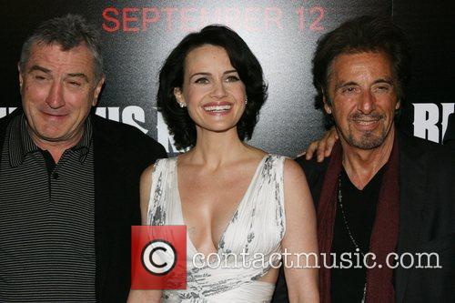 Robert De Niro, Carla Gugino and Al Pachino...