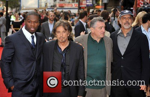 50 Cent, Al Pacino and Robert De Niro 3