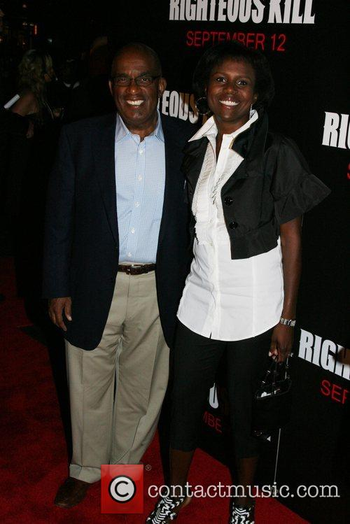 Al Roker and Deborah Roberts New York Premiere...