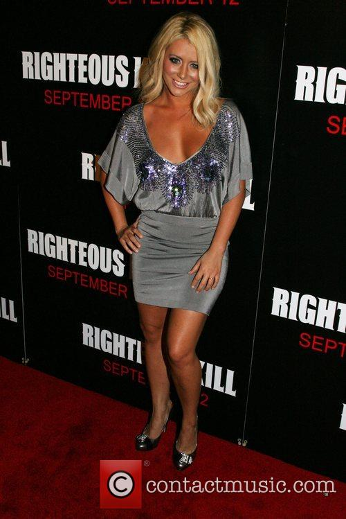 Aubrey O'Day of Danity Kane New York Premiere...
