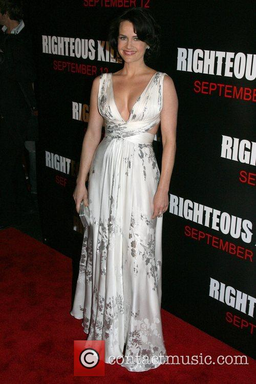 Carla Gugino New York Premiere of 'Righteous Kill'...
