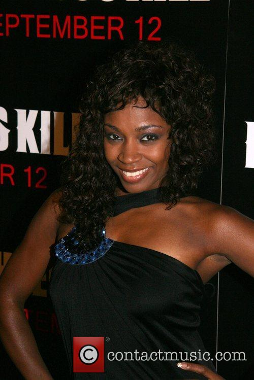 D. Woods of Danity Kane New York Premiere...