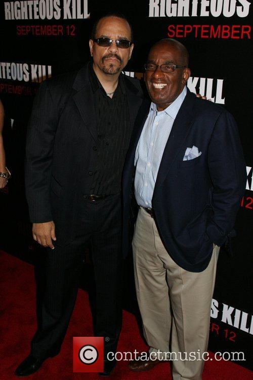 Ice T and Al Roker New York Premiere...