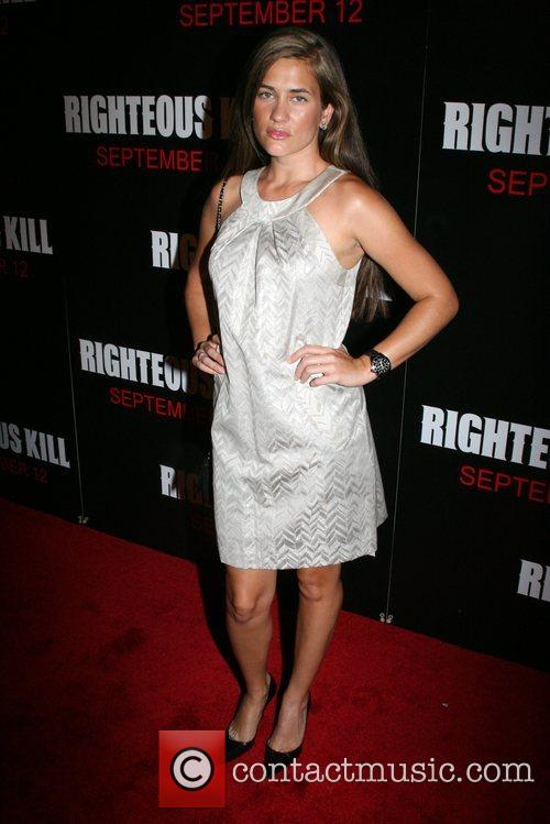 Katie Chonacas New York Premiere of 'Righteous Kill'...