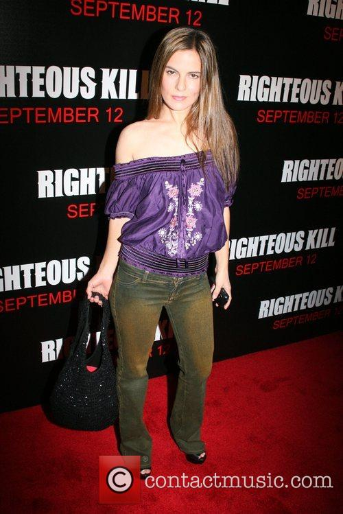 Lati Grobman New York Premiere of 'Righteous Kill'...