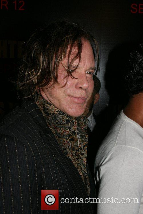 Mickey Rourke New York Premiere of 'Righteous Kill'...