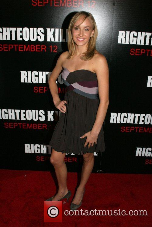 Nastia Liukin New York Premiere of 'Righteous Kill'...