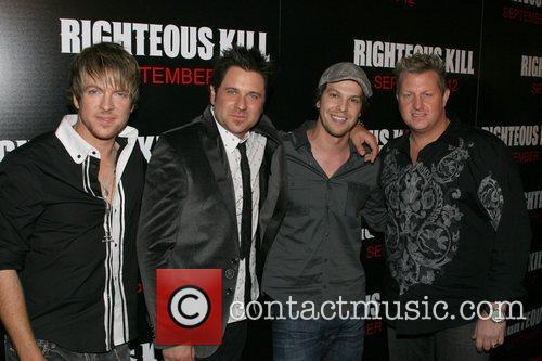 Rascal Flatts and Gavin DeGraw New York Premiere...