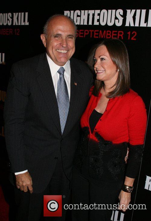 Rudy Giuliani and Judy Giuliani  New York...