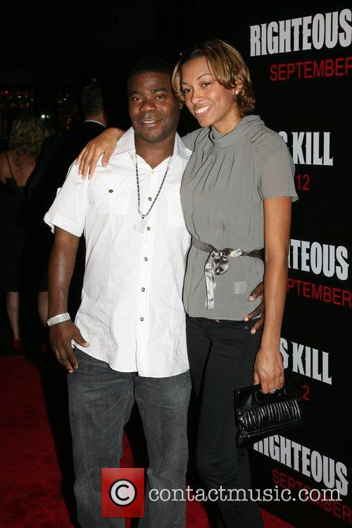 Tracy Morgan and his wife Sabina New York...