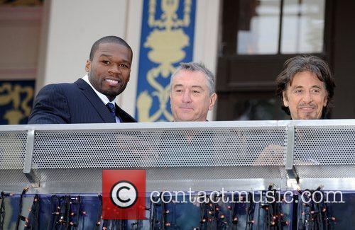 50 Cent and Robert De Niro 1