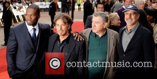 50 Cent, Al Pacino, Robert De Niro, Empire Leicester Square