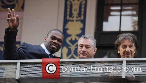 50 Cent, Robert De Niro, Empire Leicester Square