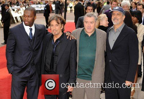 50 Cent, Al Pacino and Robert De Niro 11