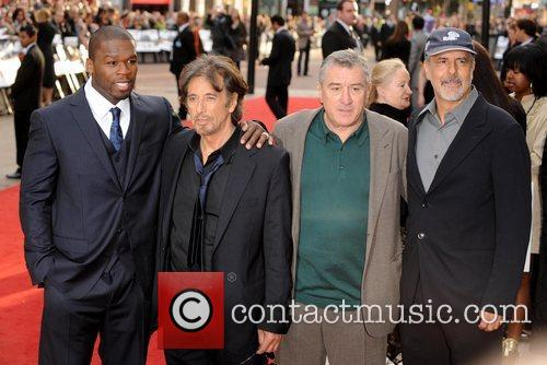 50 Cent, Al Pacino and Robert De Niro 8
