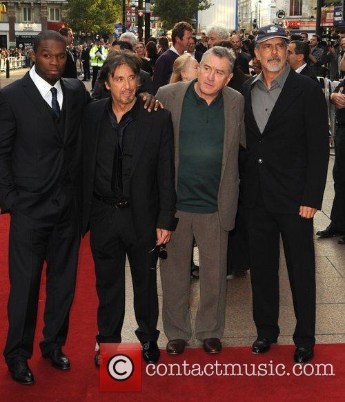 50 Cent, Al Pacino and Robert De Niro 7