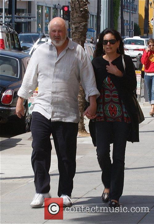 Rob Reiner and His Wife Michele Singer 1
