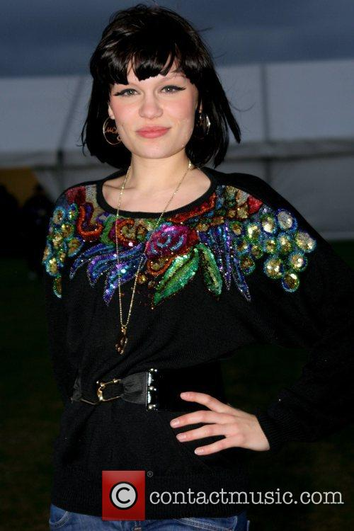 Jessie backstage Rock and Roll Charity Concert in...
