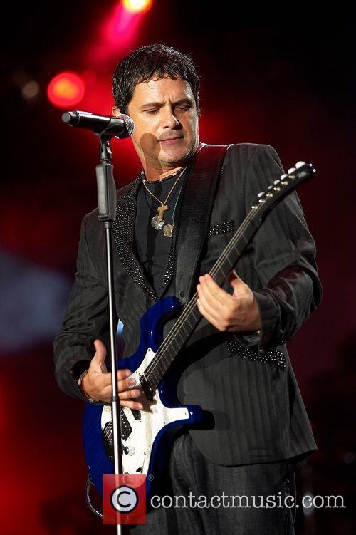 Alejandro Sanz performing live at Rock in Rio...
