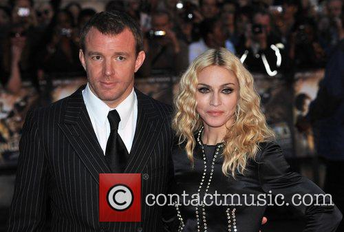 Guy Ritchie and Madonna 'Rocknrolla' World Premiere held...