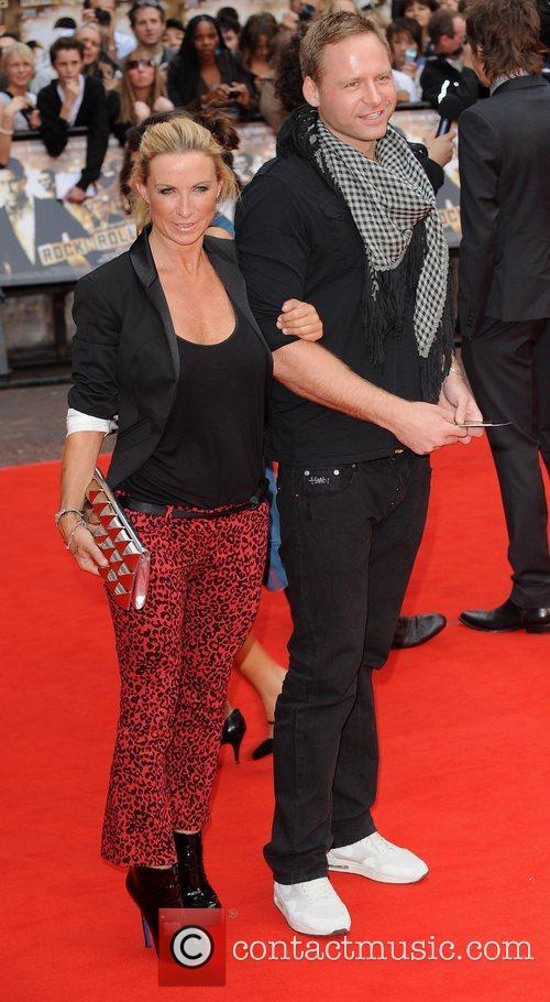Meg Matthews and guest 'Rocknrolla' World Premiere held...