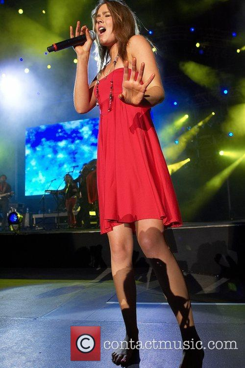 Joss Stone performing live at Rock in Rio...