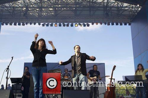 Lucia Moniz and Ricardo Azevedo  performing live...