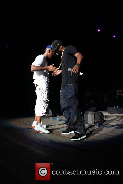 Nas and Jay-Z 2008 Rock the Bells at...