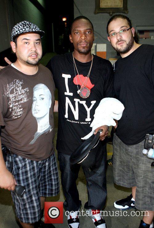 Phil Gonzales, M! ofDead Prez and Josh Thomas...