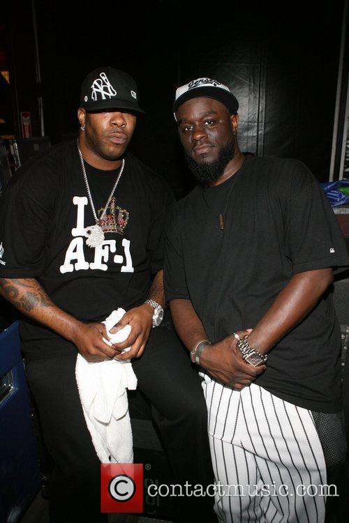 Busta Rymes and Abdul 2008 Rock the Bells...