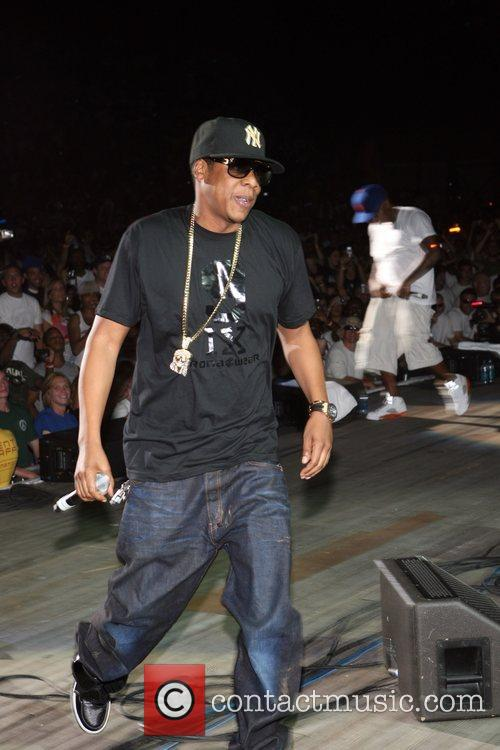 Jay Z 2008 Rock the Bells at Jones...