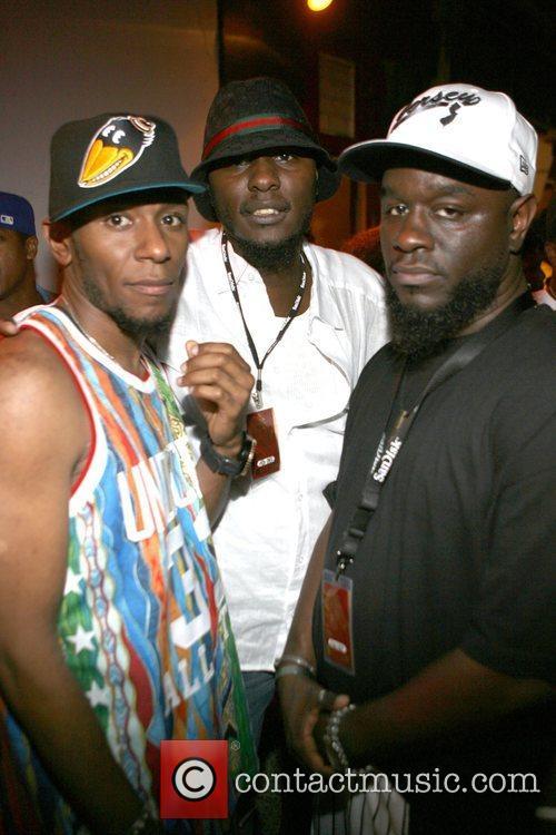 Mos Def, Brothers, Khalil Supastar and Abdul 2008 Rock The Bells At Jones Beach Theatre 8