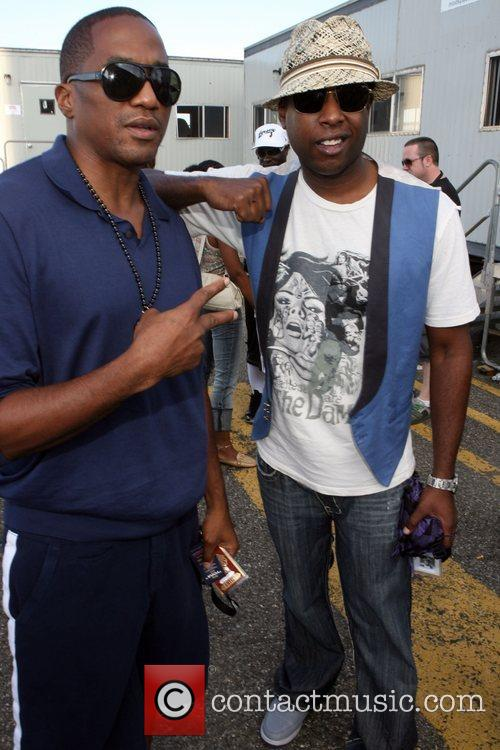 Q-tip from A Tribe called Quest and Talib...